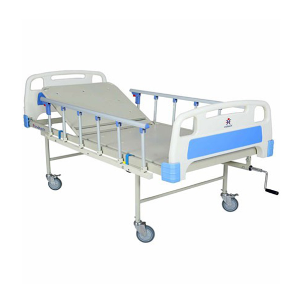 Fowler bed with collapsible railing ABS Wheels