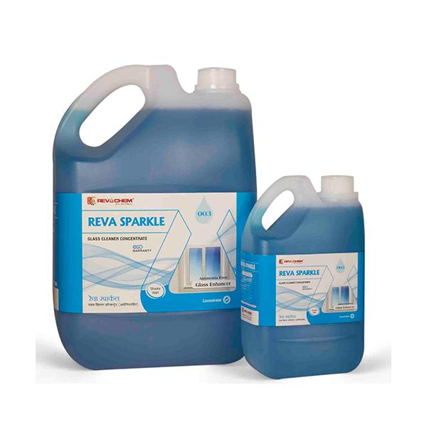GLASS CLEANER REVA SPARKLE R3 GCo 5 Ltr Can