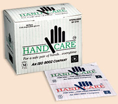 Hand Care Eva Gloves Sterile – 1 box Contains 50 pcs | sterile gloves at best price