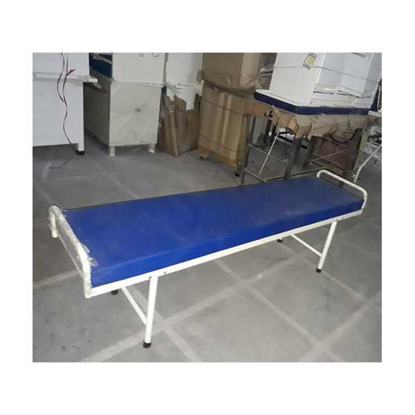 PATIENT ATTENDER COT WITH MATTRESS