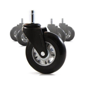 5″ Wheel Set 2 Wheels Having Breakable