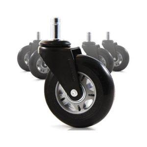 5″ Wheel Set 2 Wheels Having Breakable 1 1