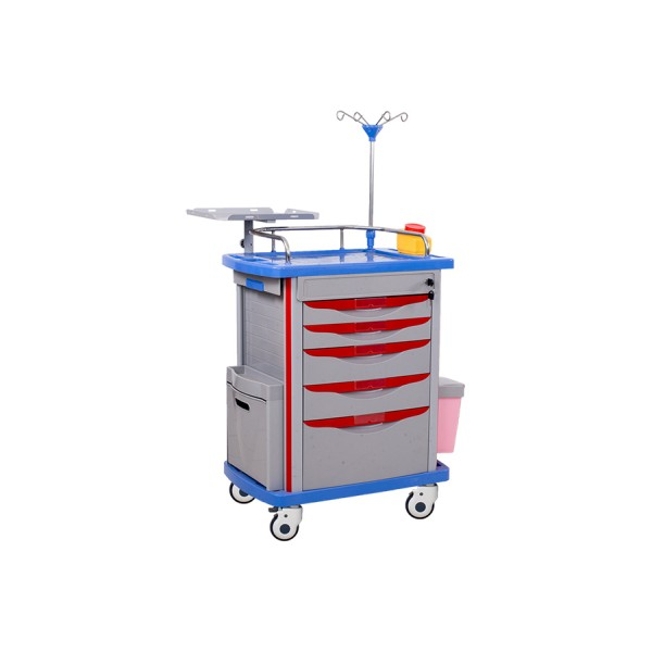 ABS Emergency Trolley - Crash Cart Trolley Available At Medpick