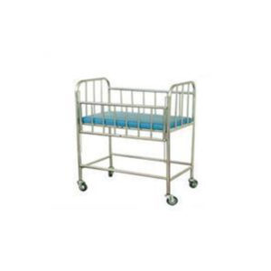 Baby Cradle with Stand Model GCo Powder coated