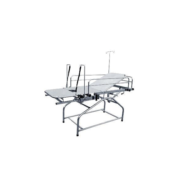 Backrest Gynae Labour Table 72″ X 27″ X 31″ With Total Stainless Steel 1
