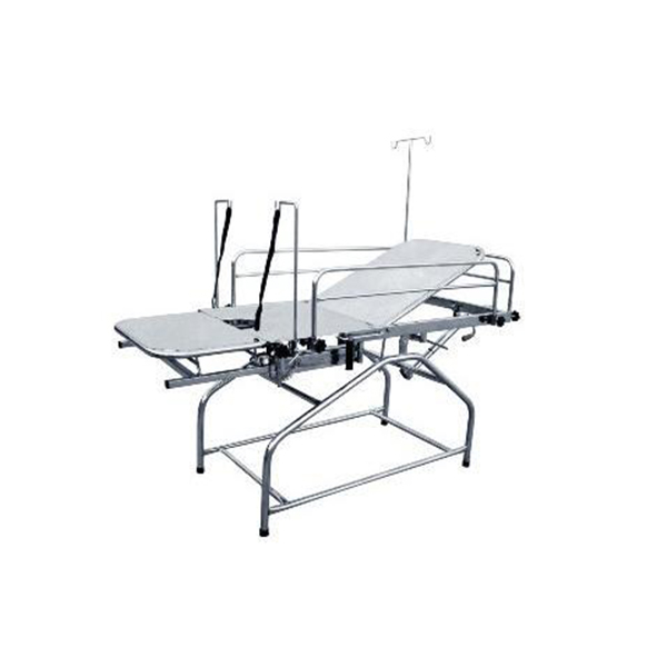 Backrest Gynae Labour Table 72″ x 27″ x 31″ with Total Stainless Steel