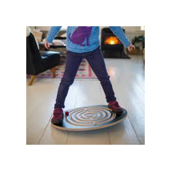 Balance Board Wooden Polished Deluxe