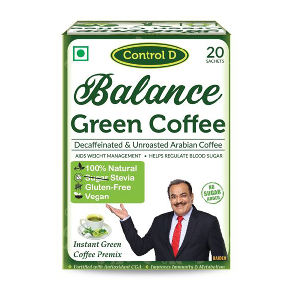 Balance Instant Green Coffee With Stevia 2