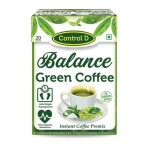 Balance Instant Green Coffee With Stevia