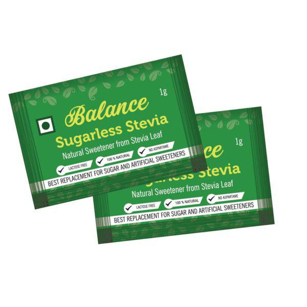 Balance Sugarless Stevia Sachets 1