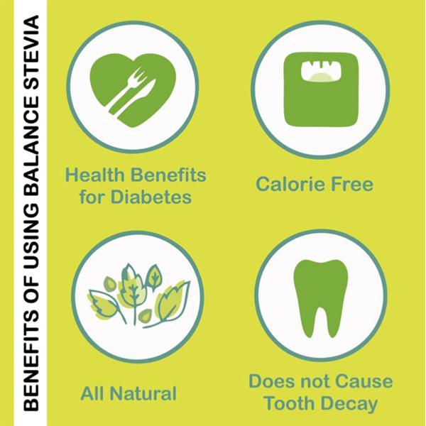 Balance Sugarless Stevia Sachets 2