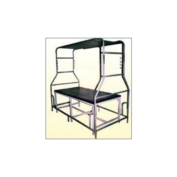 Bed With Suspension Frame Powder Coated