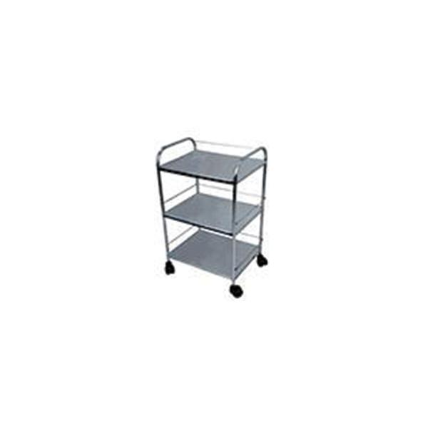 Bedside Trolley 17 x 14 x 30 Stainless Steel