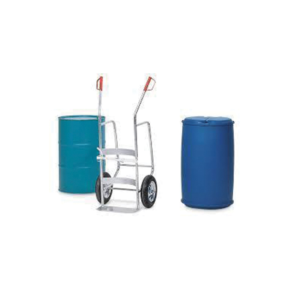 Bio Waste Collect Trolley – 1 Drum 2Wheels Stainless Steel