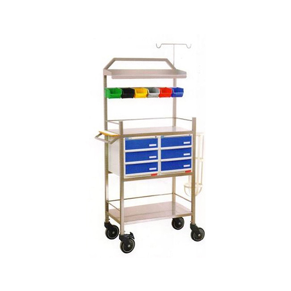 CRASH CART WITH ABS DRAWERS 2