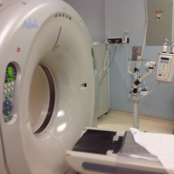 CT scanner – Aquilion 64 2