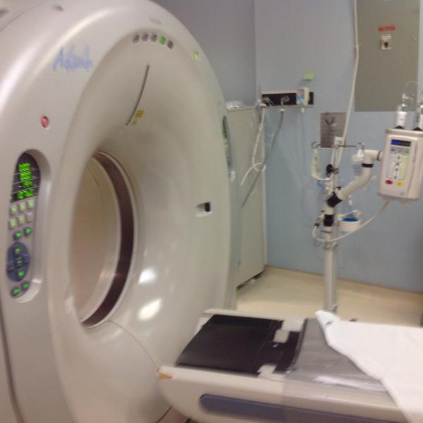 CT scanner – Aquilion 64 2
