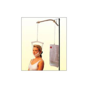 Cervicaltraction Kit HalterSpreader Bar With Rope And Pulley