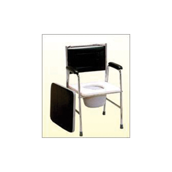 Commode Chair Folding Deluxe M.S. Top