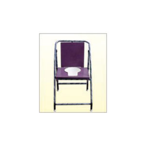 Commode Chair Non Folding Deluxe Powder