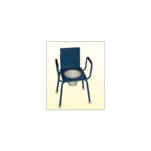 Commode Stool Non Folding M.S. Top 14×14