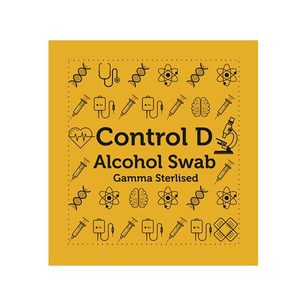 Control D Alcohol Swabs 100s