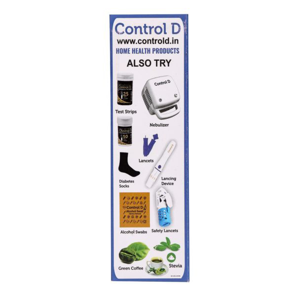 Control D Blue Meter With 25 Strips 4