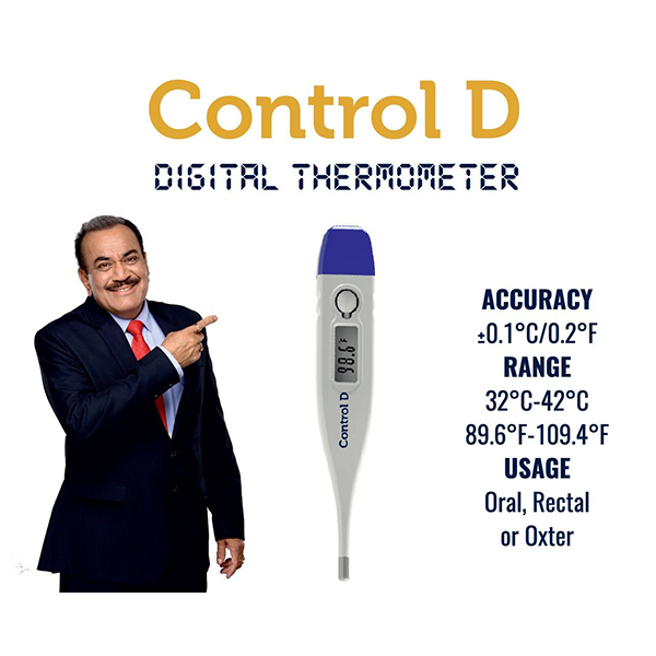 Control D Digital Thermometer 12 1