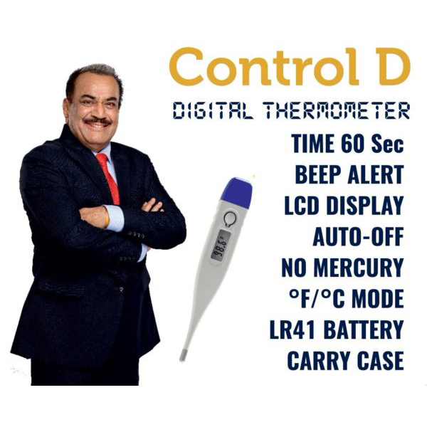Control D Digital Thermometer 13 1