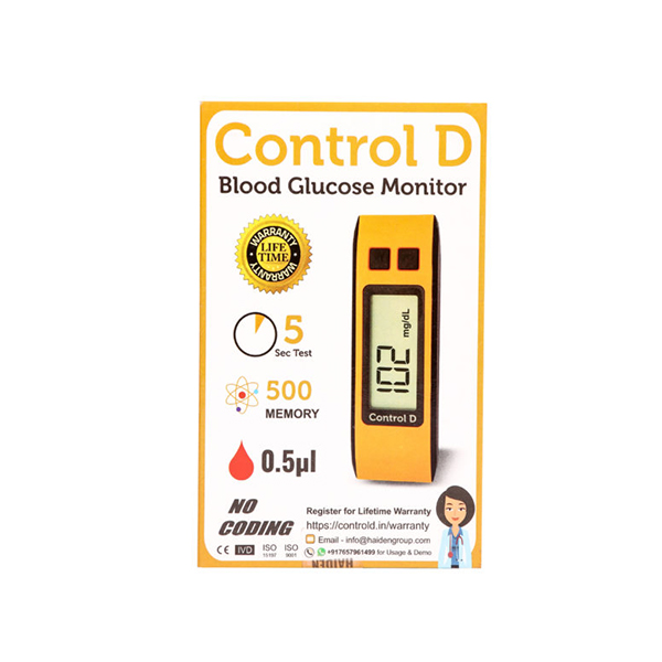 Control D Glucometer Kit 4 2