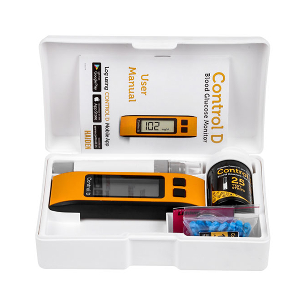 Control D Glucometer Kit