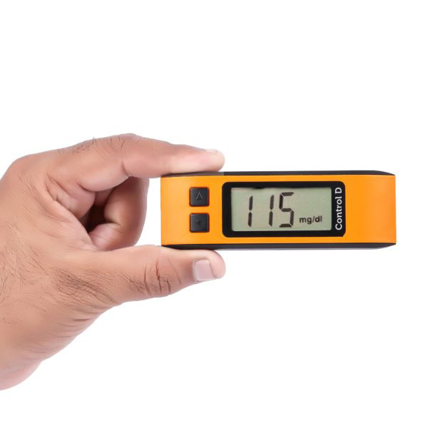 Control D Orange Meter With 25 Strips 2