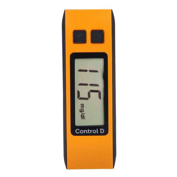 Control D Orange Meter With 25 Strips 6