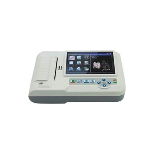 ECG Six Channel Color TFT Display with Touch Screen