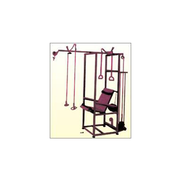Exercise Chair Powder Coated With Accessories