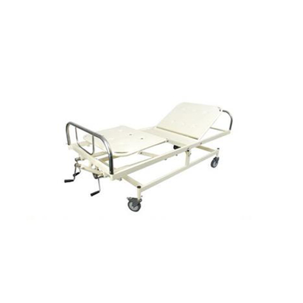ICU Bed With ABS Bows ABS Side Railing 4 Section