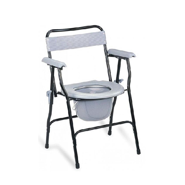 Invalid Commode Chair with Armrest Foldable Imported FS899