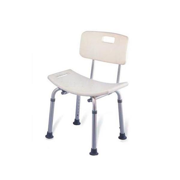 Invalid Shower Chair Adj. Height Folding PC