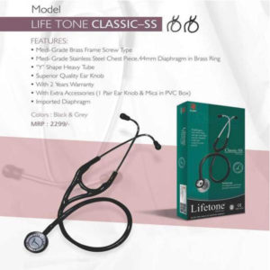 LIFE TONE STETHOSCOPE CLASSIC SS