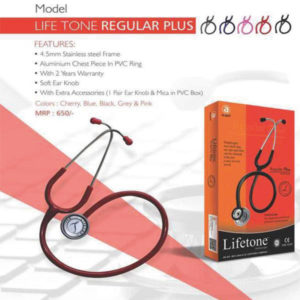 LIFE TONE STETHOSCOPE REGULAR PLUS