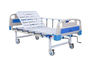 Manual 2 Function Best Fowler Bed in India   Hospital Cots - Kraft 133
