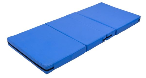 Blue Multi Fold Foam Medical Mattress