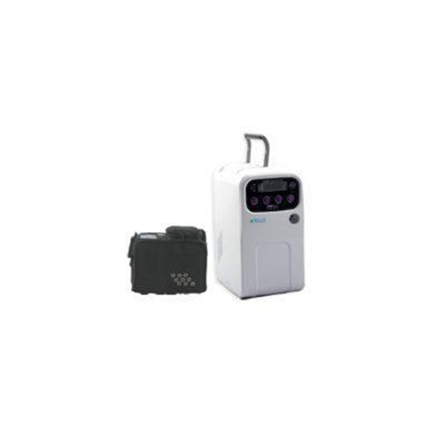 Oxygen Concentrator 5 Litre Single O L With 2 Batteries And Back Up Of 6 Hrs Weight Of 3 Kg