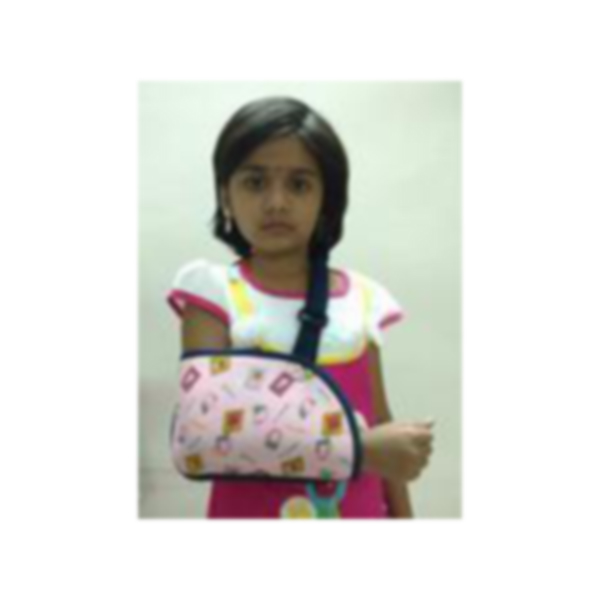 PEDIATRIC ARM SLING POUCH AND S 1