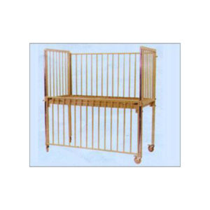 Pediatric-Cot-With-Drop-Side