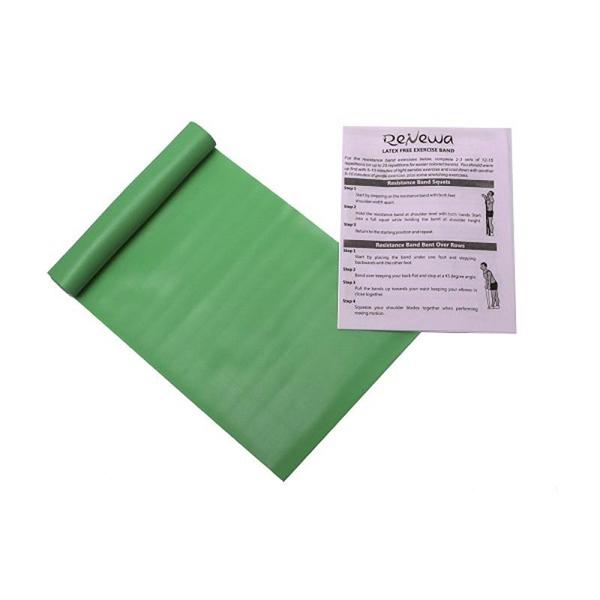 Renewa Latex Free Exercise Band Green