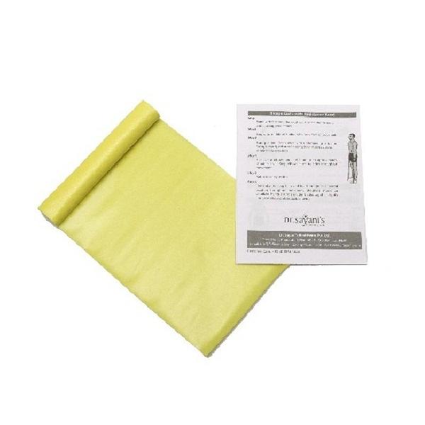 Renewa Latex Free Exercise Band Yellow