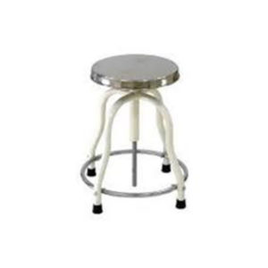 Revolving Stool Stainless Steel