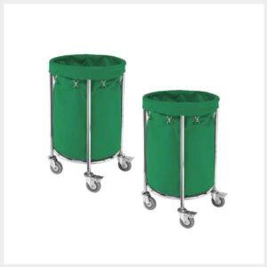 Round-Trolley-Linen-Trolley