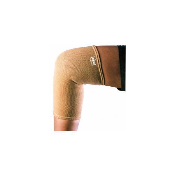 SABAR KNEE CAP – TUBULAR KNEE SUPPORT LYCRA 5005 SMALL 23 27 CMS – BEIGE